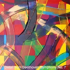 Detail from Beethoven Symphony 7